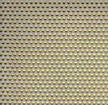 Děrovaný plech nerezový RV 3-5, formát 1,0 x 1500 x 3000 mm