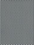 Děrovaný plech ocelový Rv 6-9, formát 1,5 x 1000 x 2000 mm