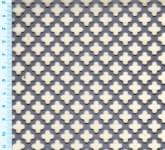 """Děrovaný plech ocelový """"křížek-křížek"""", formát 1,0 x 1000 x 2000 mm"""