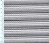 Děrovaný plech ocelový Rv 1,5-2,5, formát 1,0 x 1000 x 2000 mm
