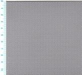 Děrovaný plech ocelový Rv 1-2, formát 1,0 x 1000 x 2000 mm