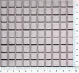 Děrovaný plech nerezový Qg 10-12, formát 1,0 x 1000 x 2000 mm