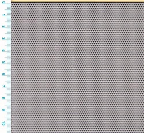 Děrovaný nerez. plech Rv 0,75 - 1,5 (tl. 0,6 x 1000 x 2000)