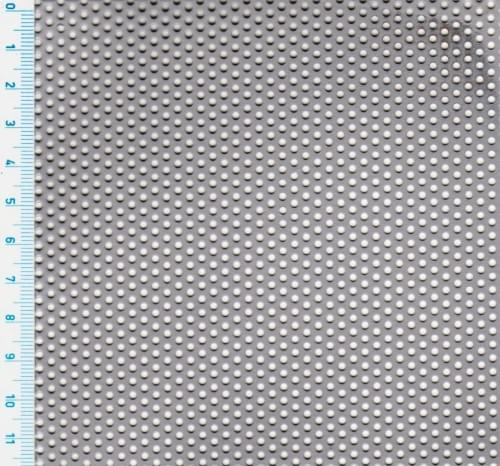 Děrovaný nerezový plech Rv 2 - 3,5 (tl. 1 x 1000 x 2000)