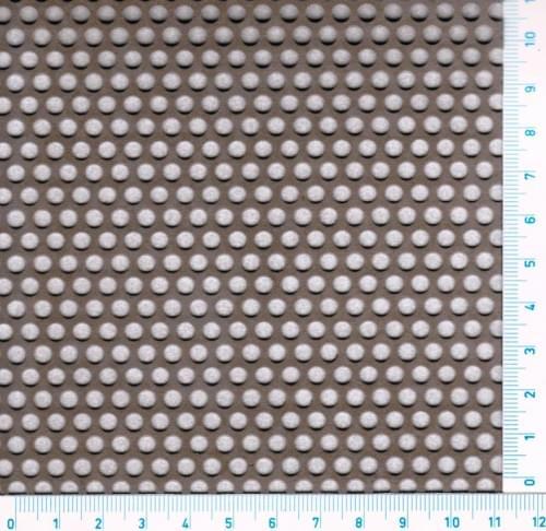 Děrovaný nerezový plech Rv 4-6 (tl.1 x 1000 x 2000)