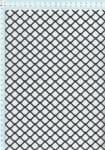 Tahokov z pozinkovaného plechu před zpracováním, válcovaný FQ 20/17 x 1,7, formát 1,0 x 1250 x 2500 mm