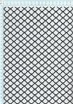 Tahokov z pozinkovaného plechu před zpracováním, válcovaný FQ 20/17 x 1,5, formát 1,0 x 1000 x 2000 mm