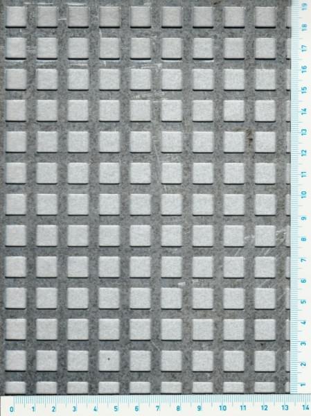 Děrovaný hliníkový plech Qg 10-14 (tl.1 x 1000 x 2000)