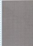 Děrovaný plech ocelový Rv 2,5-4, formát 1,5 x 1000 x 2000 mm