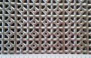 """Děrovaný plech ocelový """"SECESE"""", formát 1,0 x 1000 x 2000 mm"""