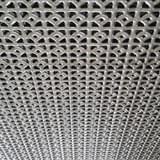 """Děrovaný ocelový plech """"SECESE"""" (tl.1,5 x 1000 x 2000)"""