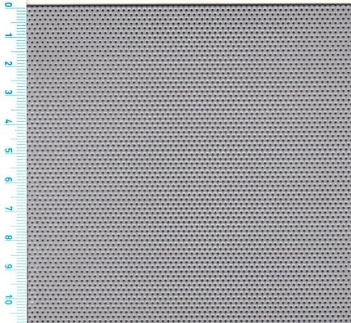 Děrovaný hliníkový plech Rv 1-2 (tl.1 x 1000 x 2000)