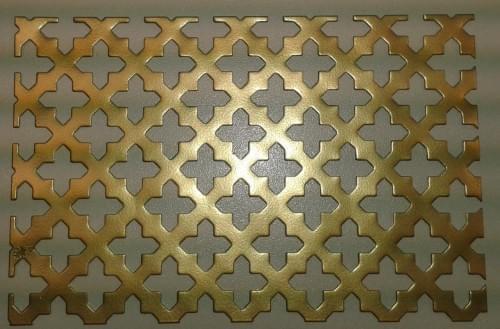"""Děrovaný """"křížek střední"""" 12-23 (1x1000x2000mm)"""