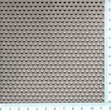 Děrovaný nerez. plech Rv 3 - 5 mm (1,5x1500x3000mm)