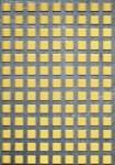 Děrovaný plech nerezový Qg 10-15, formát 1,0 x 1000 x 2000 mm