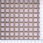 Děrovaný plech nerezový QG 10-14, formát 2,0 x 1000 x 2000 mm, 990 x 1984 děrováno