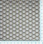Děrovaný plech ocelový Rv 8-11, formát 1,5 x 1000 x 2000 mm