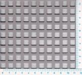 Děrovaný plech ocelový Qg 8-12, formát 2,0 x 1000 x 2000 mm
