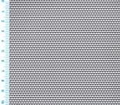 Děrovaný plech ocelový Rv 1,5-3, formát 1,5 x 1000 x 2000 mm