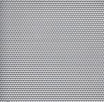Děrovaný plech nerezový RV 1,25 - 2,5, formát 1,0 x 1000 x 2000 mm