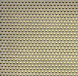 Děrovaný plech nerezový RV 3-5, formát 1,0 x 1250 x 2500 mm