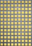 Děrovaný plech nerezový Qg 10-15, formát 1,0 x 1250 x 2500 mm