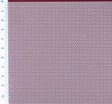Děrovaný plech ocelový Rv 1-2, formát 0,8 x 1000 x 2000 mm