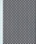 Děrovaný plech ocelový Rv 6-9, formát 1,5 x 1250 x 2500 mm