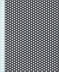 Děrovaný plech ocelový Rv 6-9, formát 1,5 x 1500 x 3000 mm