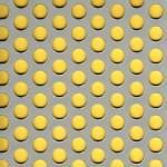 Děrovaný plech pozinkovaný před děrováním Rv 10-15, formát 2,0 x 1000 x 2000 mm