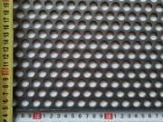Děrovaný plech ocelový Rv 12-16, formát 3,0 x 1000 x 2000 mm