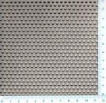 Děrovaný plech hliníkový Rv 3-5, formát 2,0 x 1000 x 2000 mm