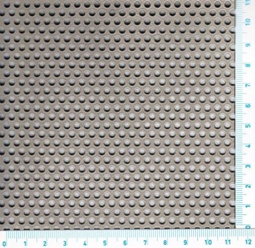 Děrovaný Ocelový plech S235JRG2 - Rv / 3.00 / 5.00 / 3.00 x 1000 x 2000