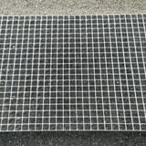 Podlahový rošt - ocel / 33.00 x 33.00 / 30.00 x 2.00 / 600.0 x 1000.0