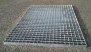 Podlahový rošt ocelový + žárový zinek 800 x 1000 mm - lisovaný
